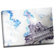 Tablou decorativ dormitor Tour Eiffel