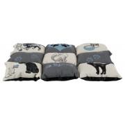 Sovbädd Lapptäcke 45 x55 cm med kattmotiv