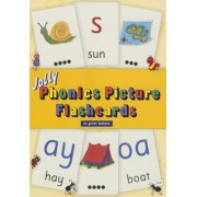 Jolly Phonics Picture Flashcards (in Print Letters), Paperback