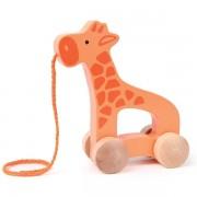 Jouet À Tirer Girafe Hape E0906