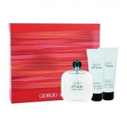 Giorgio Armani Acqua di Gioia confezione regalo Eau de Parfum 100 ml + lozione per il corpo 75 ml + doccia gel 75 ml donna