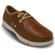 Crocs Thompson II.5 Lace Boat Shoe For Men(Brown)
