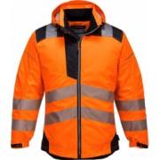 Jacheta de protectie de Ploaie Vision Hi-Vis reflectorizant portocalie T400 L