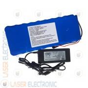 Batteria a Litio LiFePo4 celle IFR26650 36V 15AH 15000mA + Charger 36.5V 2AH