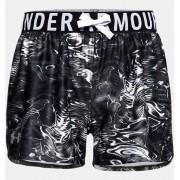 Under Armour Meisjesshort UA Play Up Printed - Girls - Black - Grootte: YL