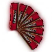 Memorie G.Skill RipJawsZ 32GB (8x4GB) DDR3 PC3-12800 CL9 1.5V 1600MHz Intel Z77 / X79 Quad Channel Kit, F3-12800CL9Q2-32GBZL