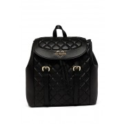LOVE Moschino Quilted Backpack BLACK