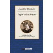 Pagini aduse de vant - Madeleine Davidsohn