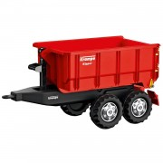 Rolly toys aanhanger rollycontainer krampe junior rood