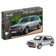 Revell Rv160 1:24 Vw Golf 1 Gti Car Hobby Craft Model Kit Pack Set