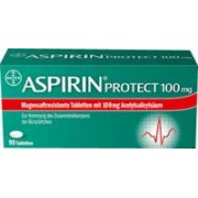 Bayer ASPIRIN Protect 100 mg magensaftres.Tabletten 98 St