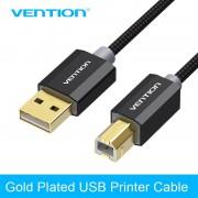 Drag USB 2.0 Printer Vergulde Kabel USB Hoge Snelheid Printer Scannen Kabel voor Camera Computer Verbinden met Printer