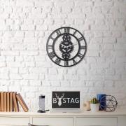 Bystag Kovové nástěnné hodiny Industrial, ø 50 cm