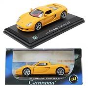 dgboy CARARAMAKOREA Porsche Carrera GT / Yellow / 1:43 / Children / Mini Car / Toy
