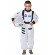 Blanco Disfraz astronauta blanco niño 10-12 años (140 cm)