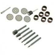 Diamond Disc Bit HSS Router Durm Sanding Set Dremel Rotary Tool Kith