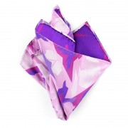 Ulterior Motive Veil Handkerchief Pink/Violet/Purple/White