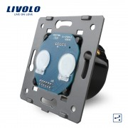 Modul intrerupator dublu cap scara cu touch LIVOLO