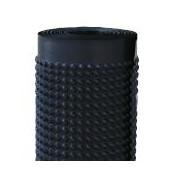 Membrana cu crampoane HDPE 2.5x20m negru
