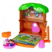 Dora the Explorer Let's Go Adventure Treehouse Mini Playset