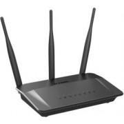 ADSL router D-LINK DIR-809, Wireless AC750 Dual Band, 4-port, 802.11b/g/n/ac, 3x antena, bežični