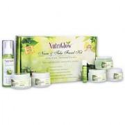 Nutriglow Neem & Tulsi Facial Kit with free NutriGlow Green Apple Skin Toner