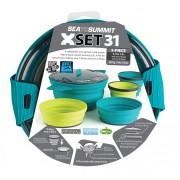 Sea To Summit X-Set: 31 5pc (X-Pot 2.8L, 2 X-Bowls, 2 X-Mugs) - - Pots & Casseroles