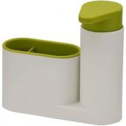 Sink Tide Set / Toothbrush Holder with Liquid Soap Dispenser - 2 Pcs.