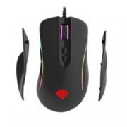 Мишка Genesis XENON 750 RGB, оптична (10200 dpi), USB, геймърска, 7 бутона, подсветка, черна