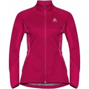 Odlo Zeroweight Windproof Jack Women - Female - Roze - Grootte: Small