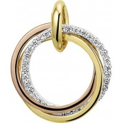 The Jewelry Collection Hanger Diamant 0.12ct H Si - Geelgoud;ros�goud;witgoud
