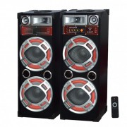 Boxe Active Audio cu Bluetooth, RadioFM si USB 100W Ailiang USBFM620DT