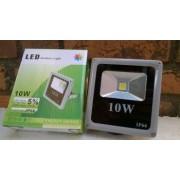 Proiector LED SMD 10W Economic Slim 6500K Lumina Rece