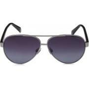 Polaroid Aviator Sunglasses(Grey)