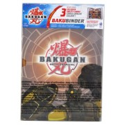 "Cartoon Network Tv Series ""Bakugan Battle Brawler"" Cards Holder Subterra Brown Bakubinder With 4 Ability Cards (3 Exclusive) And 4 Metal Gate Cards (Binder Holds Up To 96 Cards)"