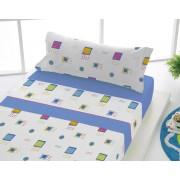 SABANALIA Juego de sábanas estampadas Adele (disponible en varios colores y tamaños)