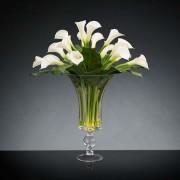 Aranjament floral BOWL CALLA, 120cm