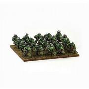 Kings Of War - Goblins: Goblin Spitters Regiment (20)