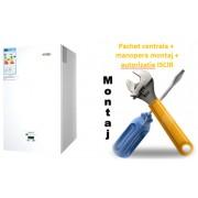 Pachet centrala condensatie Motan Green 28 - 28 KW cu manopera montaj si autorizare ISCIR