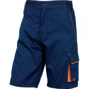 Bermuda da lavoro Delta Plus M6BERBMXG - 401185 abbigliamento da lavoro - blu/arancione - Taglia xl - Conf 1 - M6BERBMXG