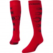 Spyder Boy's Socks Bug Out red