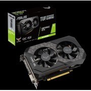 VGA Asus TUF-GTX1650S-O4G-GAMING, nVidia GeForce GTX 1650 SUPER, 4GB, do 1800MHz, 36mj (90YV0E42-M0NA00)