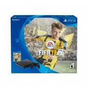CONSOLA PLAYSTATION 4 SLIM NEGRO 500GB CON FIFA 17 BUNDLE-NEGRO