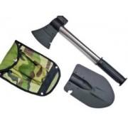 Lopata Multifunctionala Outdoor Military cu Baioneta si Topor