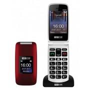 Maxcom MM824 kártyafüggetlen, extra nagy gombokkal, vészhívóval piros