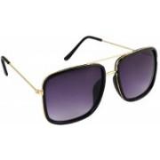 Flynn Rectangular Sunglasses(Violet)
