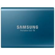 SSD Extern Samsung T5, 250 GB, USB 3.1 Gen 2 (Albastru)