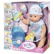 Baby Born - Bebelus Baiat Interactiv Cu Corp Moale Zapf