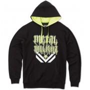 kapucnis pulóver férfi - SNARE - METAL MULISHA - M15510104.01_BLK