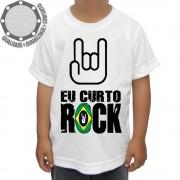 Camiseta Eu Curto Rock